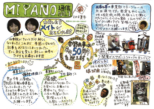 MIYANO通信 2018年夏号