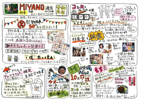 MIANO通信 2019年秋号